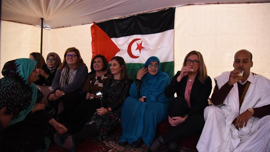 Sahara Asamblea Extremadura