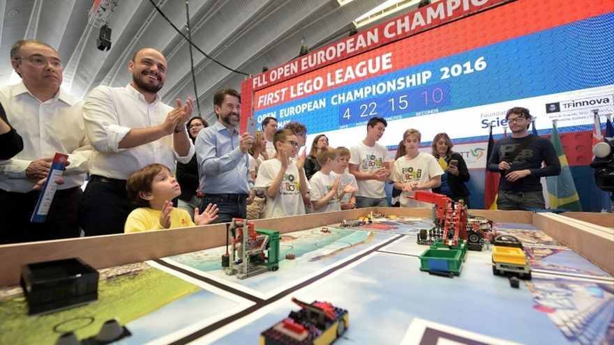 Este sábado se presentó, en el Recinto Ferial de Tenerife, la final del campeonato europeo de First Lego League