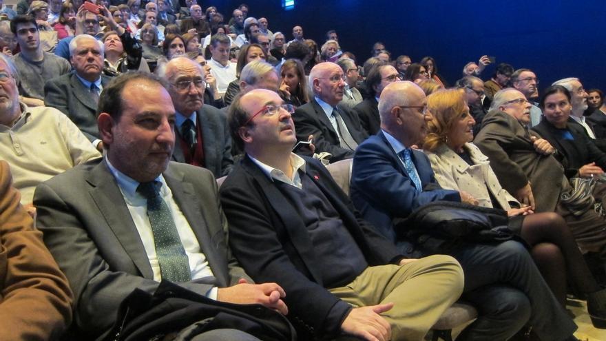 """Iceta se declara """"optimista"""" sobre el futuro de las relaciones entre el PSC y el PSOE"""
