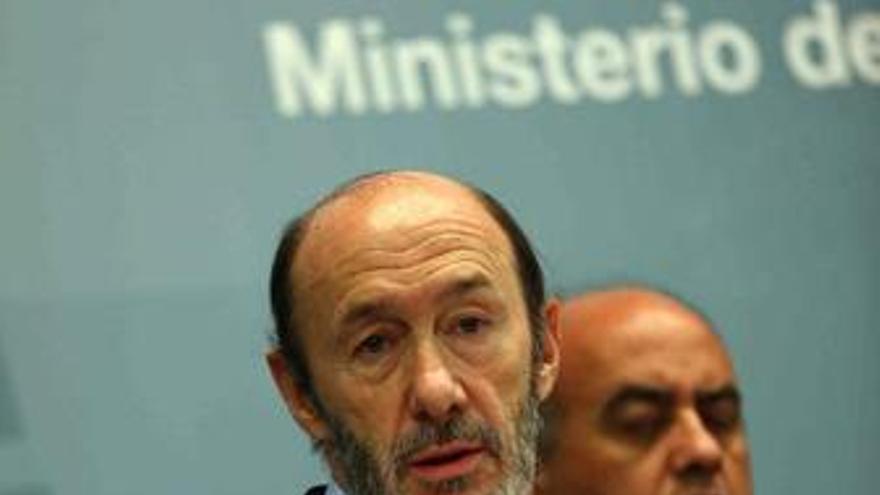 Alfredo Pérez Rubalcaba. (EUROPA PRESS)