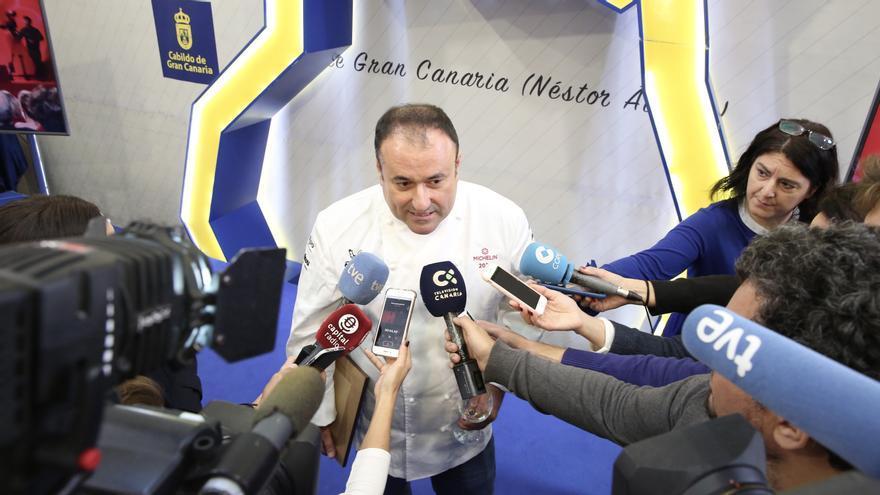 Uno de los cocineros homenajeado en Gran Canaria tras estar incluido en la Guía Michelin 2020