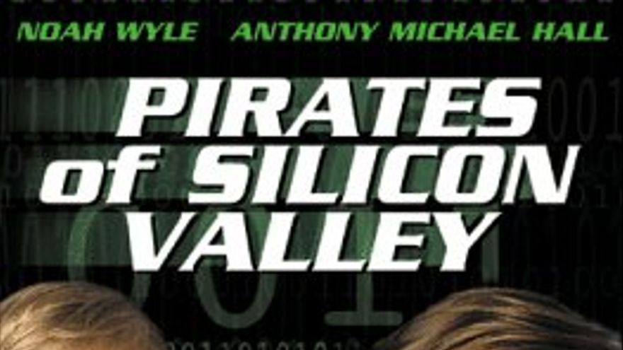 El cartel de 'Pirates of Silicon Valley' (Foto: IMDB)