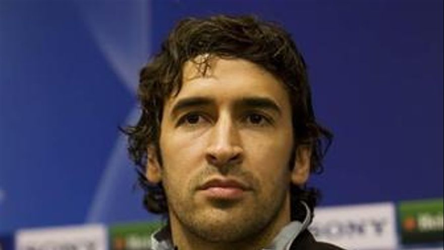 Raúl González, jugador del Real Madrid