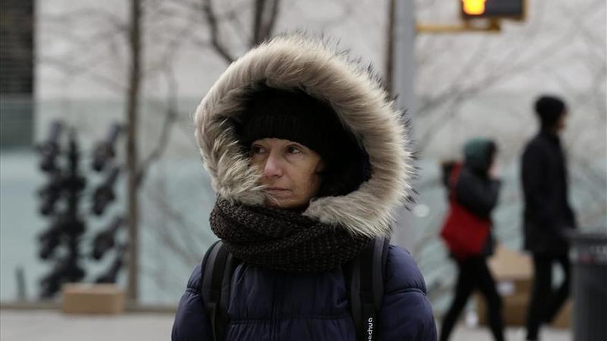 Nueva York tirita por una ola de frío polar