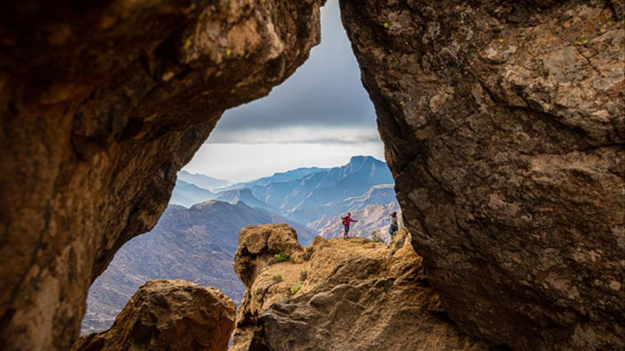El peculiar relieve y orografía de Gran Canaria permiten la aparición de microclimas y hábitats muy diversos.