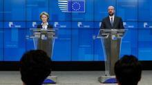 """La Unión Europea promete usar """"todas las herramientas"""" para superar el coronavirus."""