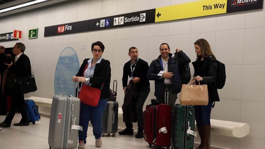 El metro de Barcelona funcionará al 33 % durante el Sónar y al 40 % a partir del lunes
