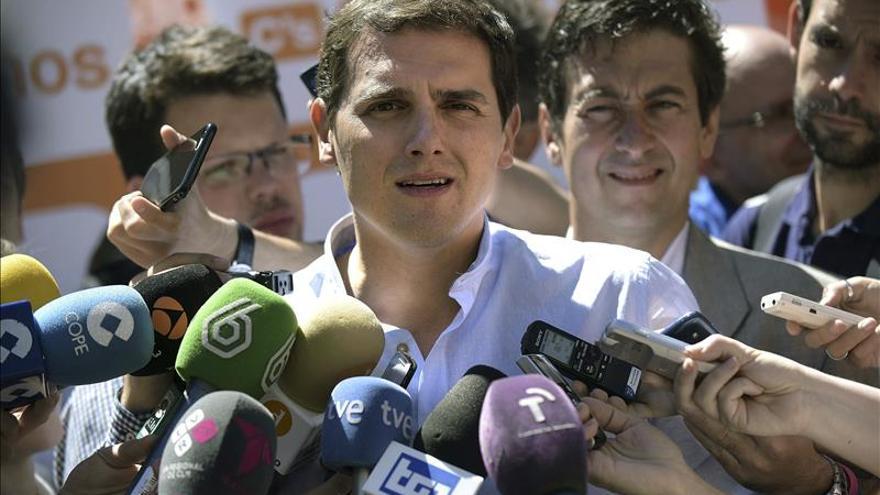 Rivera descarta cualquier pacto municipal con los partidos nacionalistas