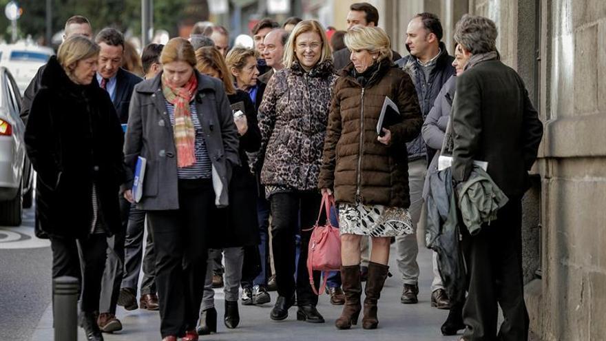 Aguirre niega que ocultara la dimisión de Ignacio González en el PP de Madrid