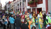 Imagen de archivo del Carnaval de Santa Cruz de La Palma.