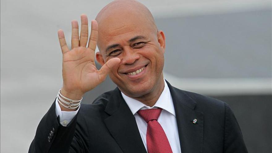 Martelly reclama que toda la ayuda a Haití llegue a su Gobierno, no a las ONG