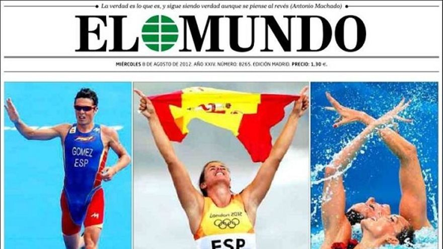 De las portadas del día (08/08/2012) #7