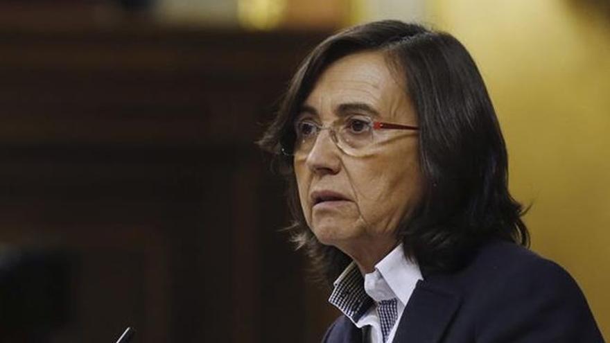 Rosa Aguilar, ex dirigente de IU que abandonó la coalición de izquierdas para fichar por el Gobierno andaluz del PSOE.