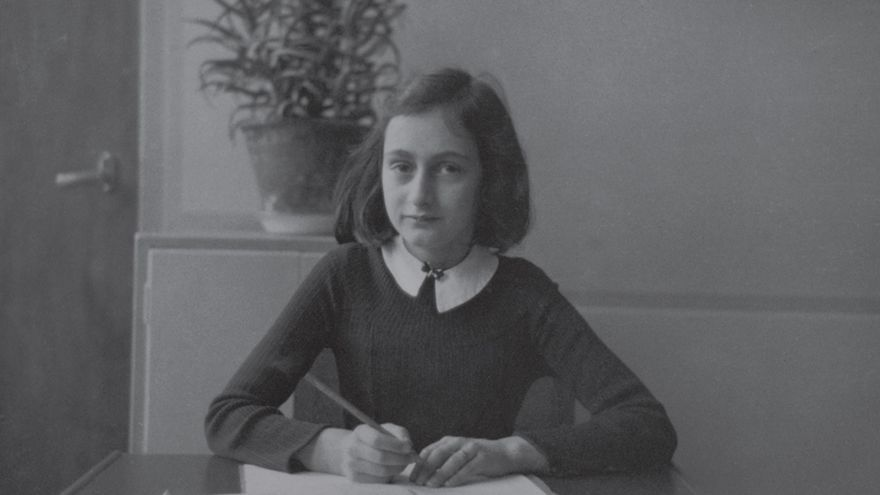 Imagen de Anna Frank.