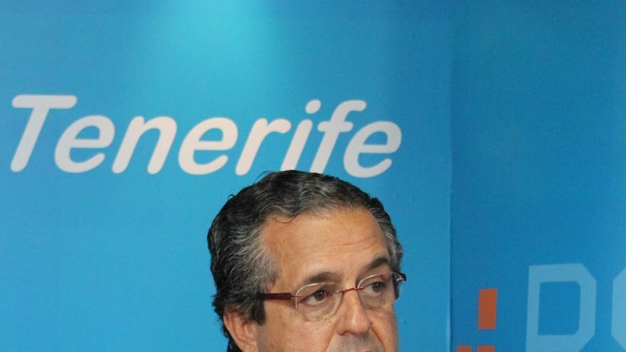 El portavoz del PP en el Cabildo de Tenerife, Antonio Alarcó.