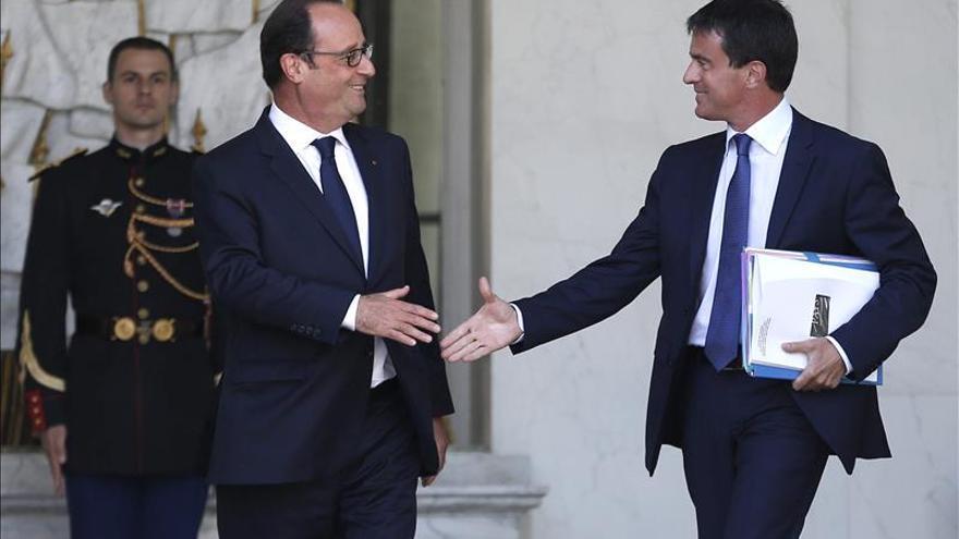 Valls se somete a la confianza del Parlamento francés con viento de revuelta en el Partido Socialista