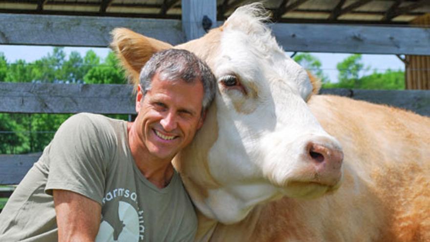 Gene Bauer, fundador de Farm Sanctuary
