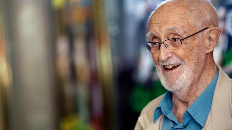 El escritor y humanista barcelonés José Luis Sampedro.