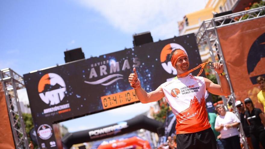 Pere Aurell, nuevo campeón del UltramaratónTransvulcania (© Transvulcania).