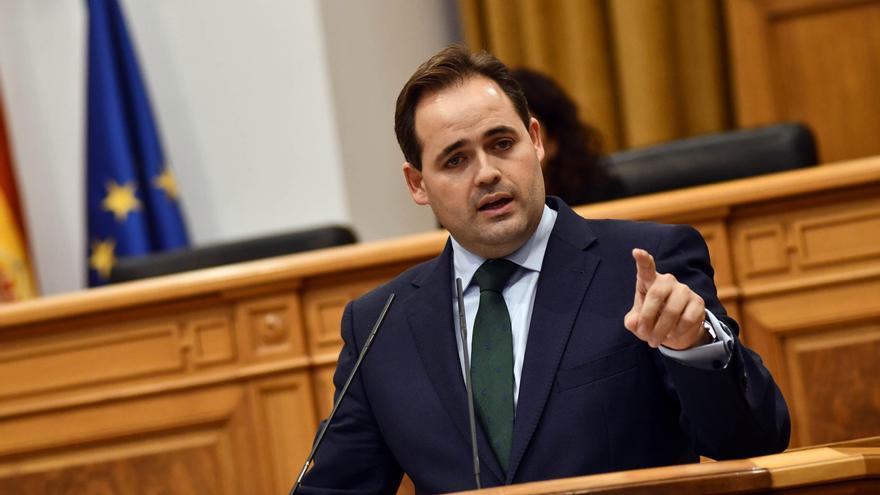 Francisco Núñez en su primer debate sobre el estado de la región como presidente del PP