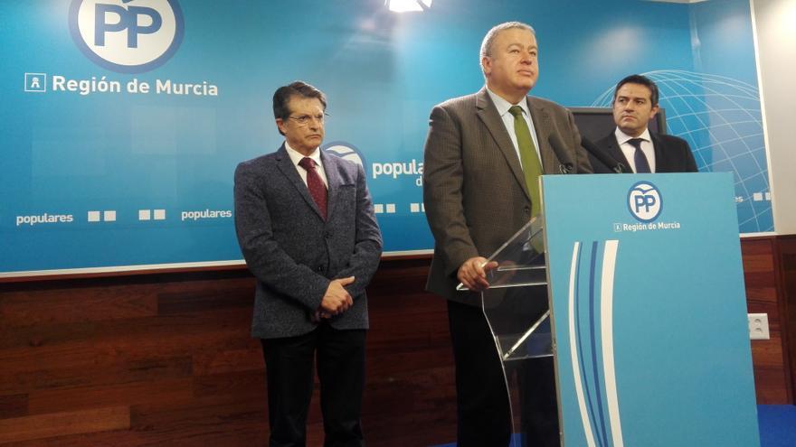 El diputado en el Congreso del PP Francisco Bernabé