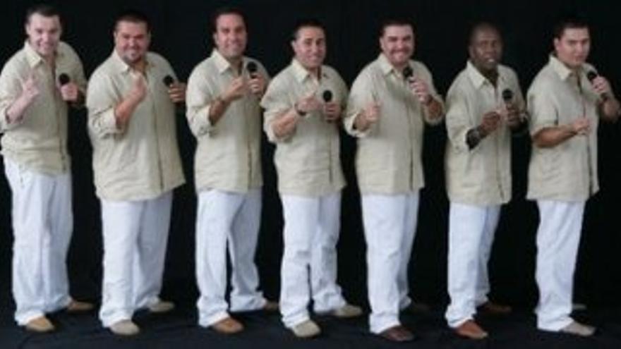 El grupo Vocal 7.