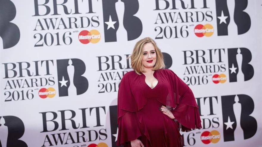 """Adele gana el Brit a mejor álbum por su trabajo """"25"""""""
