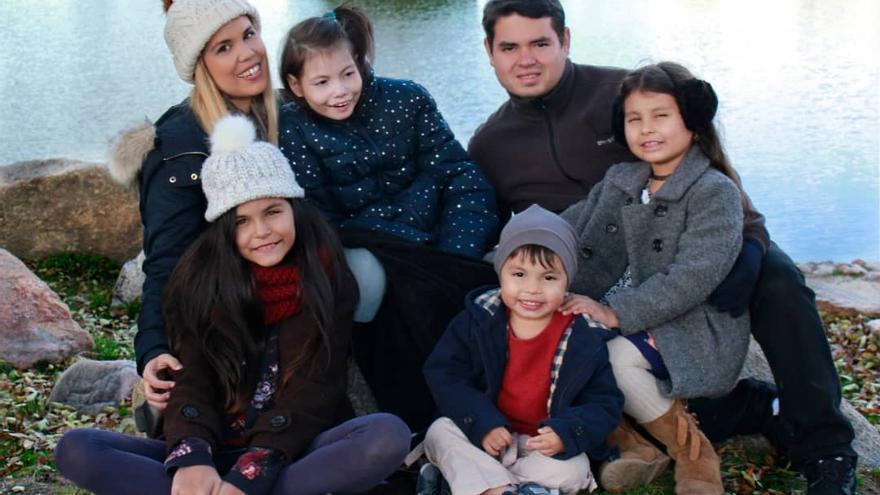 Delimar y su familia