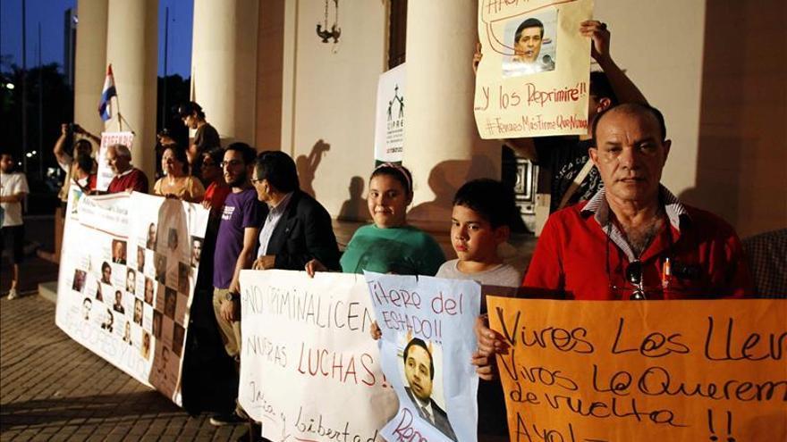Paraguay recuerda el cumpleaños de dictador con una marcha contra la impunidad