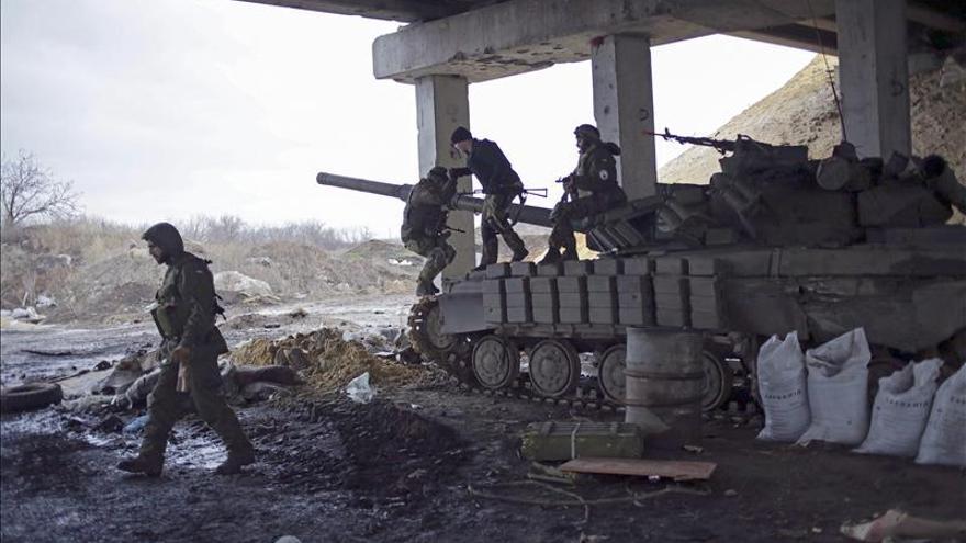 Trece militares muertos en el este de Ucrania