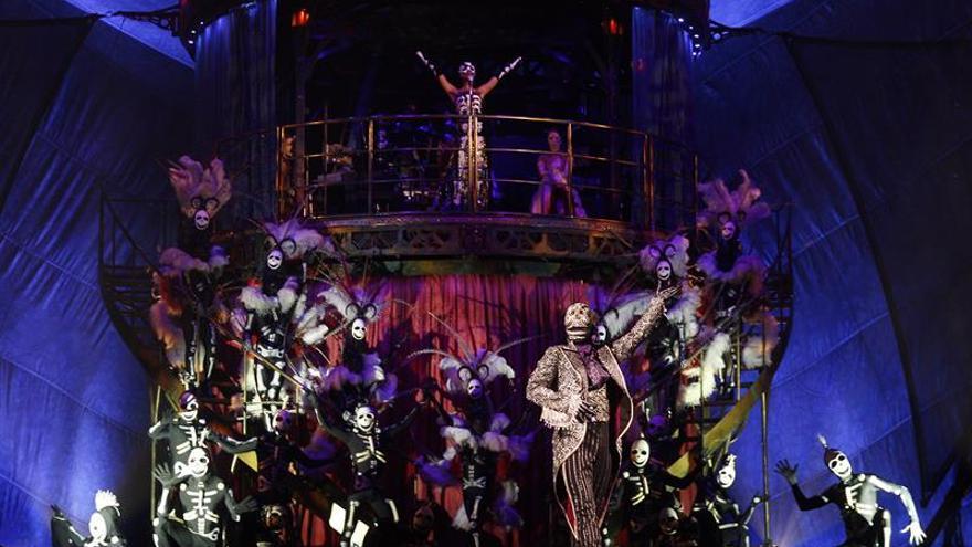 El Arte y la magia del Cirque du Soleil iluminan Santiago en su regreso a Chile