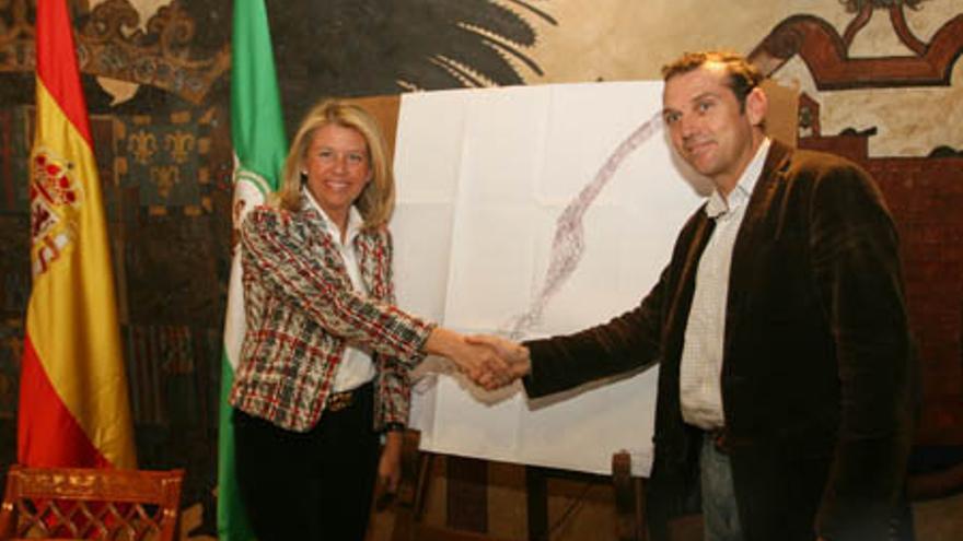 Ángeles Muñoz y Mena, alcaldes de Marbella y Benahavís respectivamente