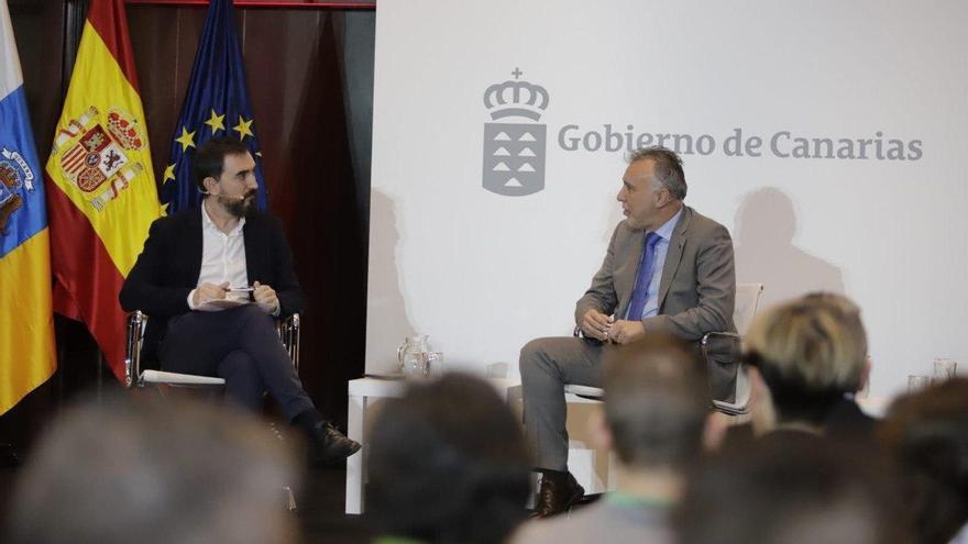 Ignacio Escolar entrevista a Ángel Víctor Torres.