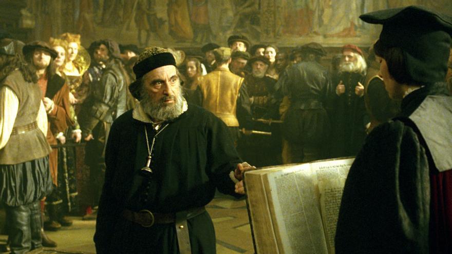 Al Pacino como 'El Mercader de Venecia'.