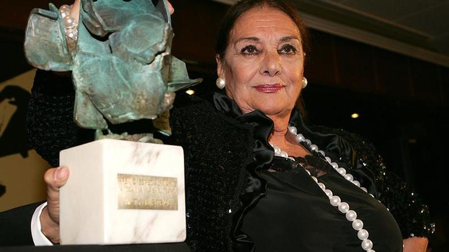 Fallece a los 88 años la actriz y cantante Nati Mistral