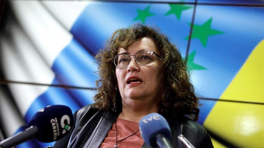 La secretaria nacional de organización de Coalición Canaria, Guadalupe González Taño.EFE/Ramón de la Rocha