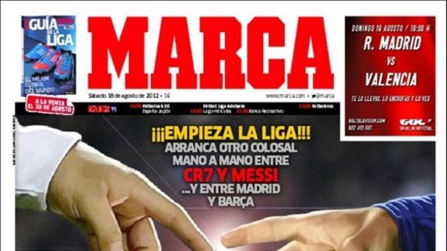 De las portadas del día (18/08/2012) #12