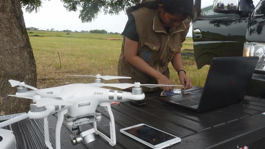 Pilotos de drones ponen en Filipinas cara a los desastres