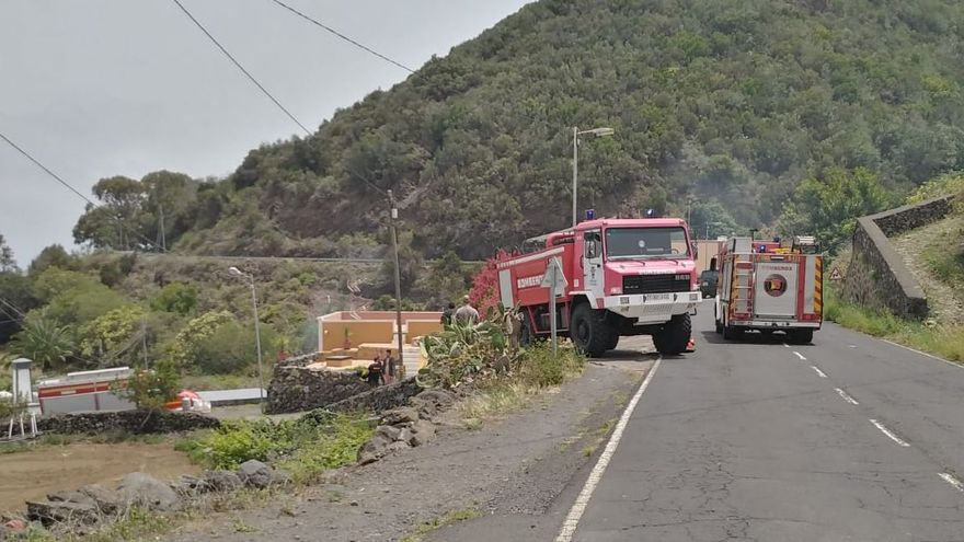 Sofocado un incendio en una vivienda en Las Ledas