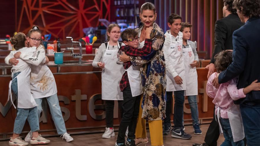 Nicolás, Aurora, Henar y Javier, finalistas de 'Masterchef Junior 8'