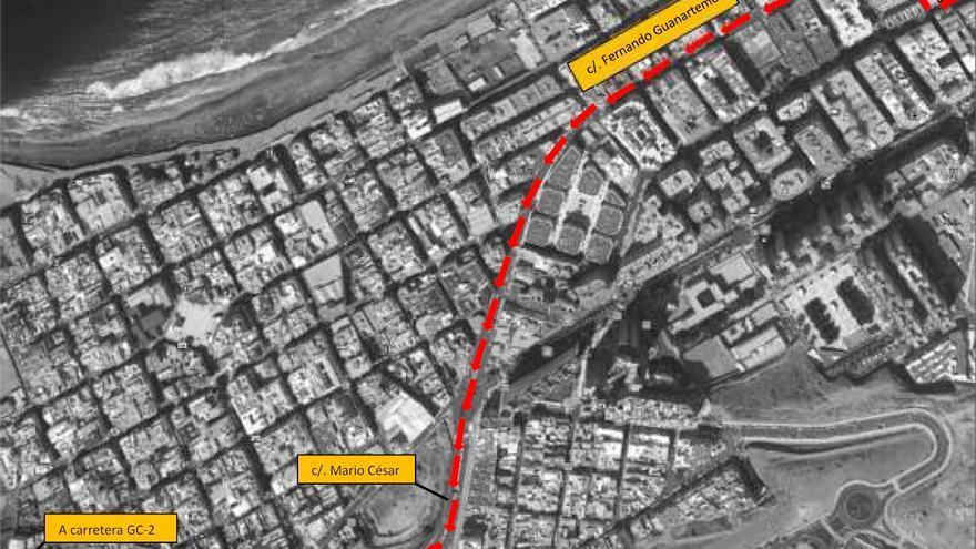 El túnel de Julio Luengo en sentido norte permanecerá cerrado desde este martes hasta el jueves entre las 22.00 y las 06.00 horas