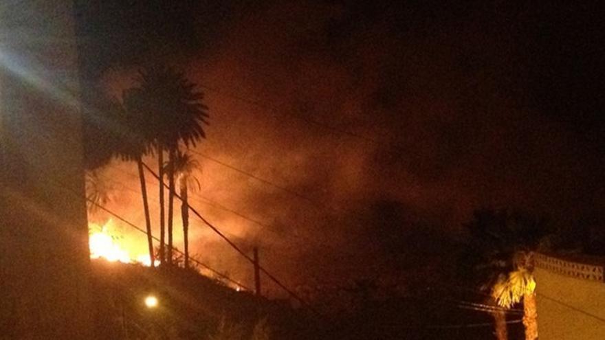 Del incendio en Lomo Verdejo #1