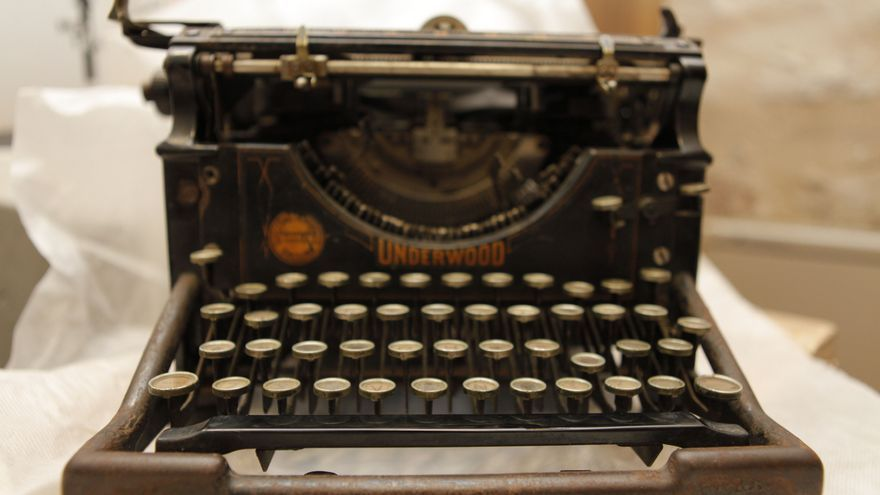 Máquina de escribir de Miguel Hernández