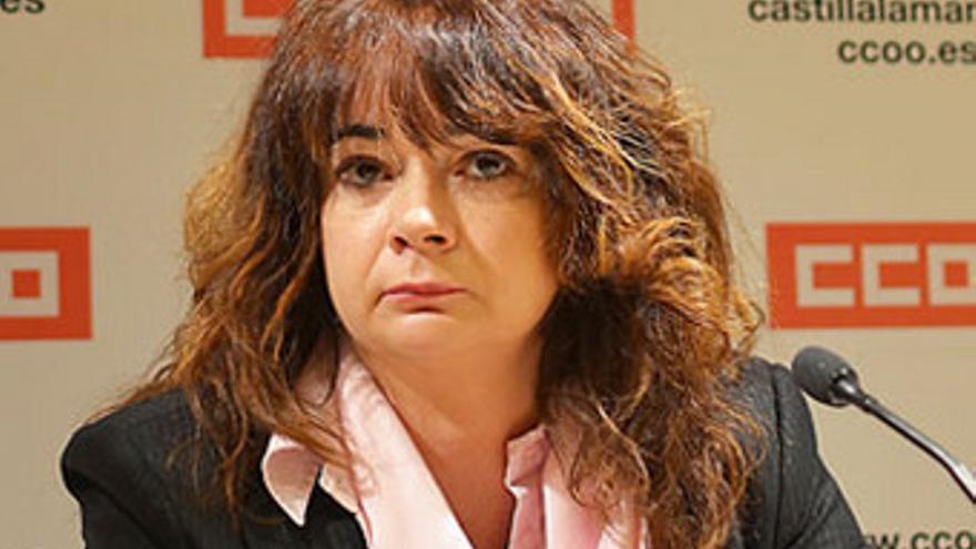 Lola Santillana, secretaria de Empleo de CCOO-CLM / Foto: CCOO-CLM