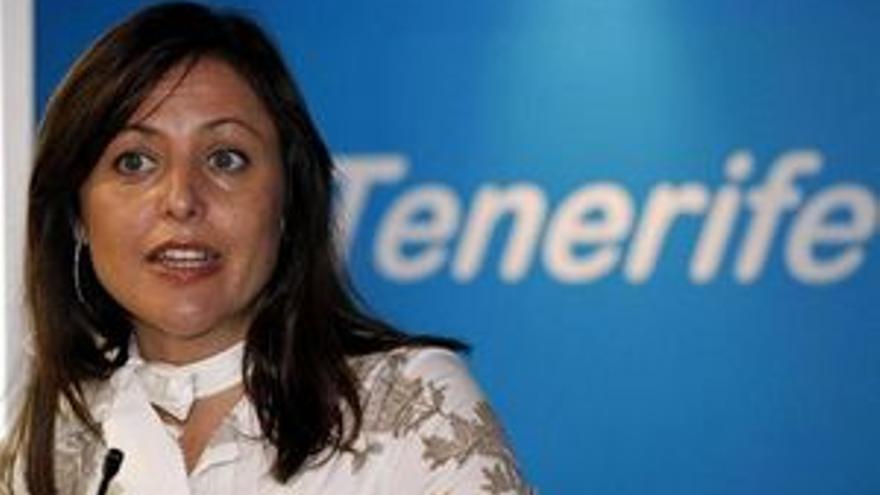 Cristina Tavío, presidenta del PP en Tenerife.