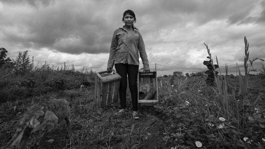 Maritsa Puma es productora agroecológica