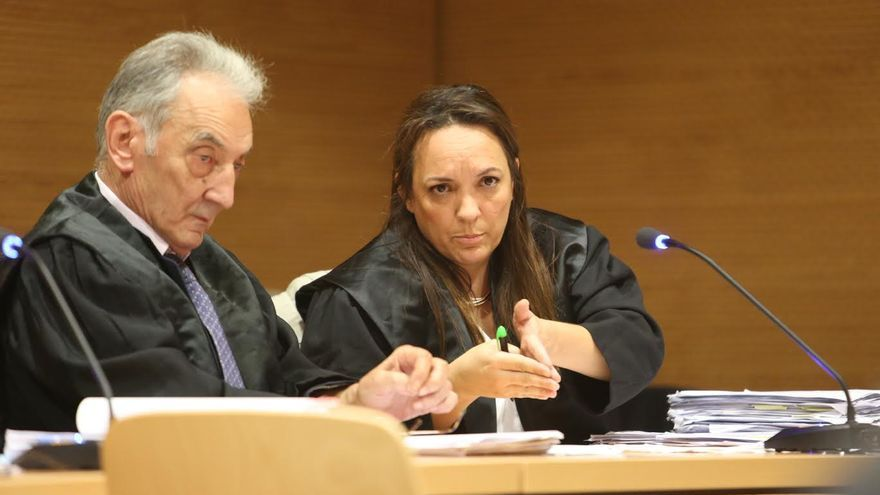 Mónica Llamas, abogada de Antonio Díaz. (ALEJANDRO RAMOS)