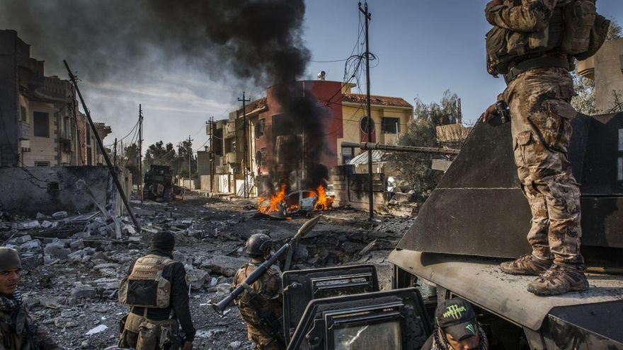 'The Battle for Mosul' | Ivor Prickett