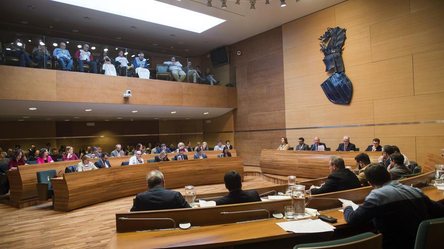 Pleno de la Diputació de València