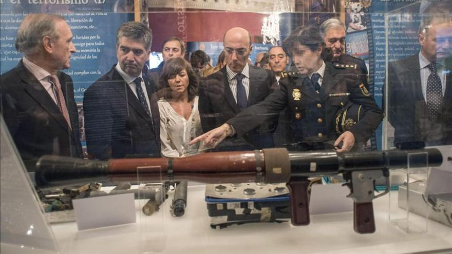"""La Policía Nacional exhibe en Bilbao """"el orgullo por haber derrotado a ETA"""""""